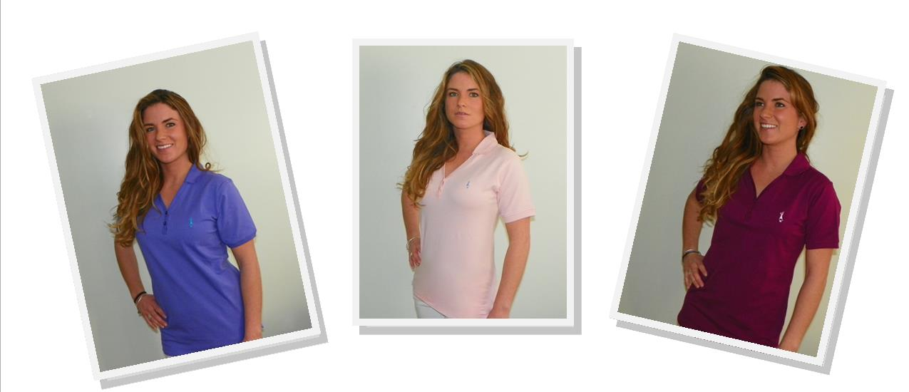V-NECK POLOS POST CARD -KELSEY 3 SHIRTS
