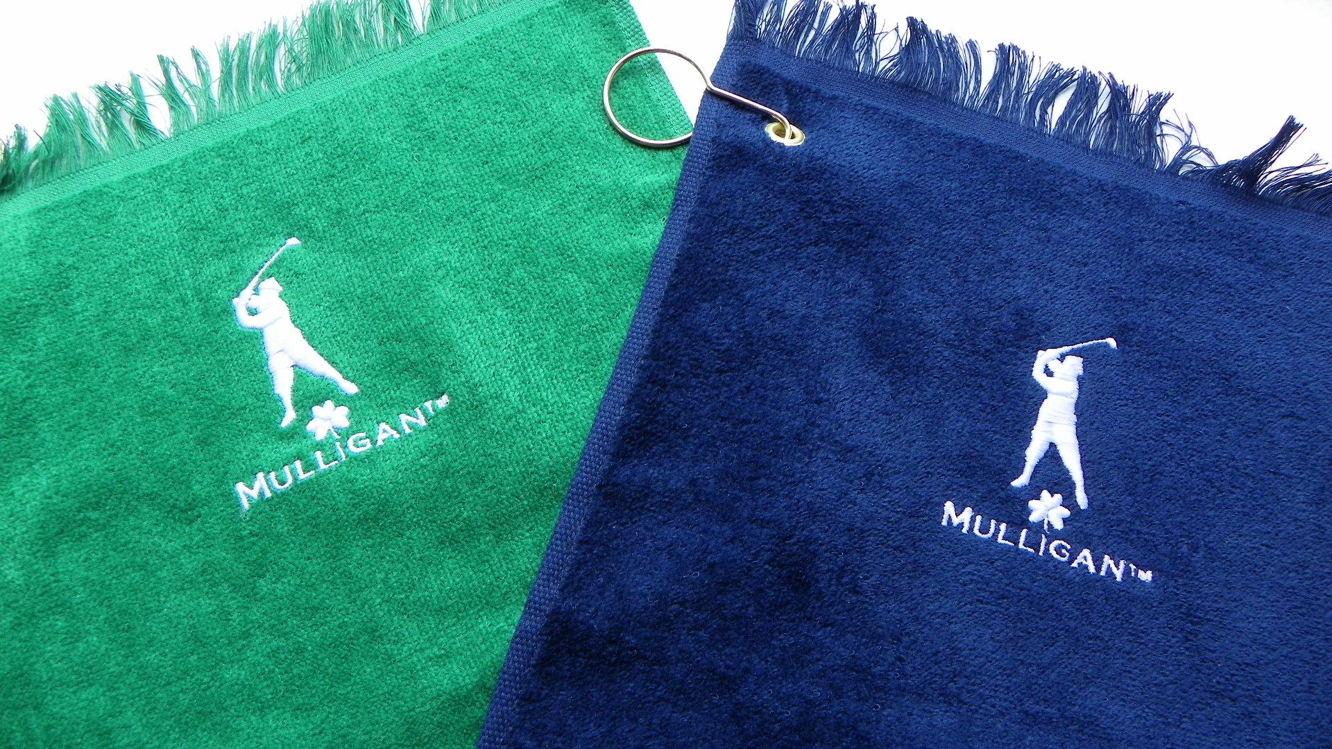 Mulligan Golf Towel- Everyone deserves a Mulligan