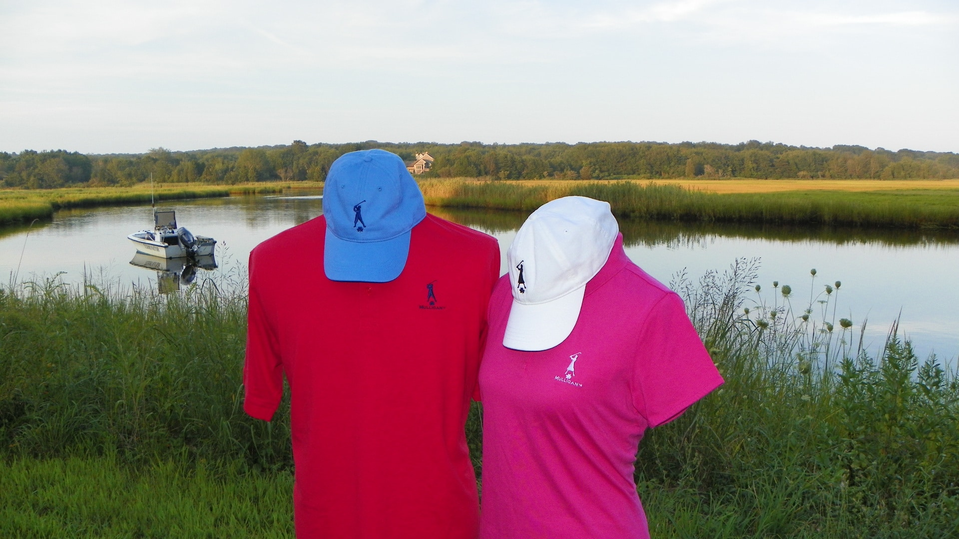 Mulligan Gear's Men's and Women's Golf Caps, Polo and T-Shirts