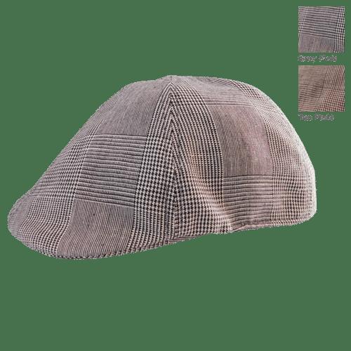 9b1a8c45 Mulligan Gear American Plaid Linen Golf Cap   Mulligan Gear ...